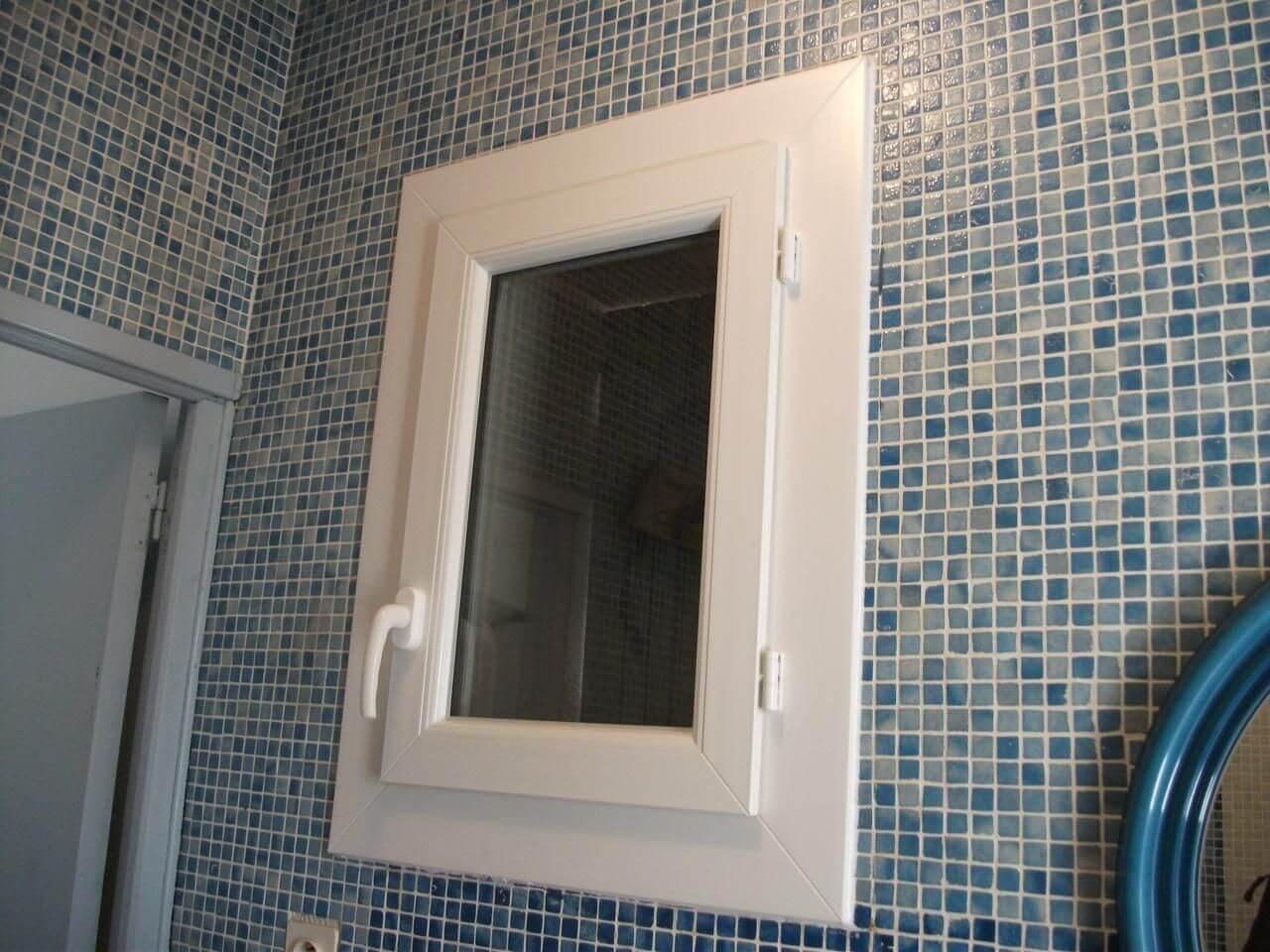 Fenêtre en PVC après rénovation