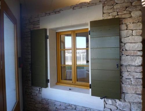 volet roulant en alu r novation les portes du luberon. Black Bedroom Furniture Sets. Home Design Ideas