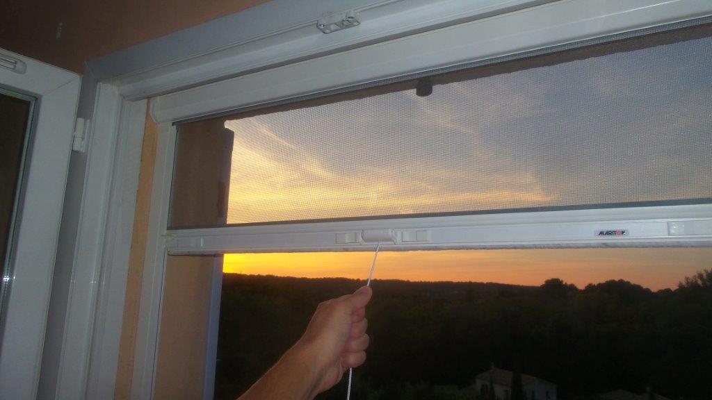 Moustiquaire MoustiRoll Fenêtre